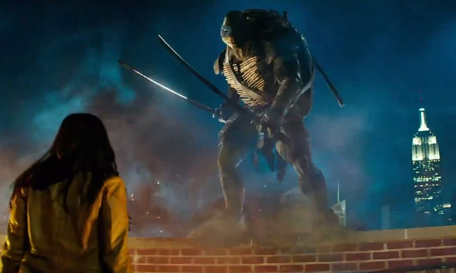 Leonardo TMNT Movie Screenshot