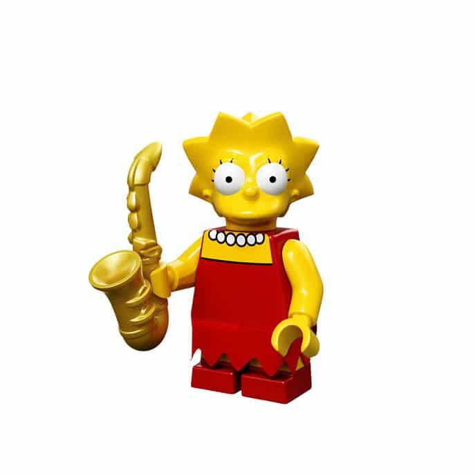 Lisa Lego Minifig