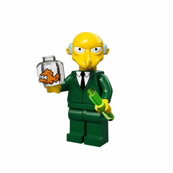Mr. Burns Lego Minifig