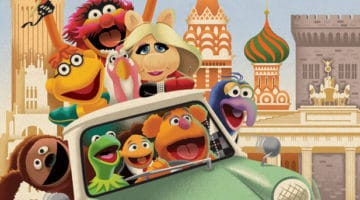 Muppets Tour The Globe Print by Eric Tan
