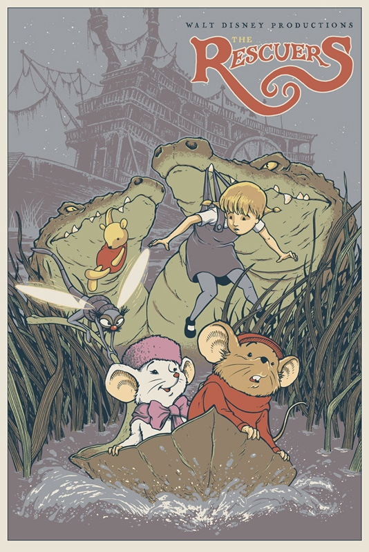The Rescuers Print