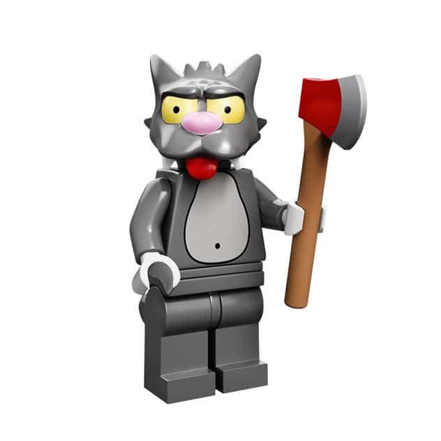 Scratchy Lego Minifig
