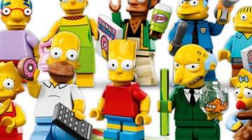 LEGO Simpsons Minifigs