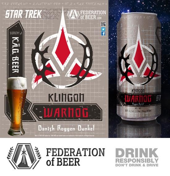 Star Trek Beer - Klingon Warnog