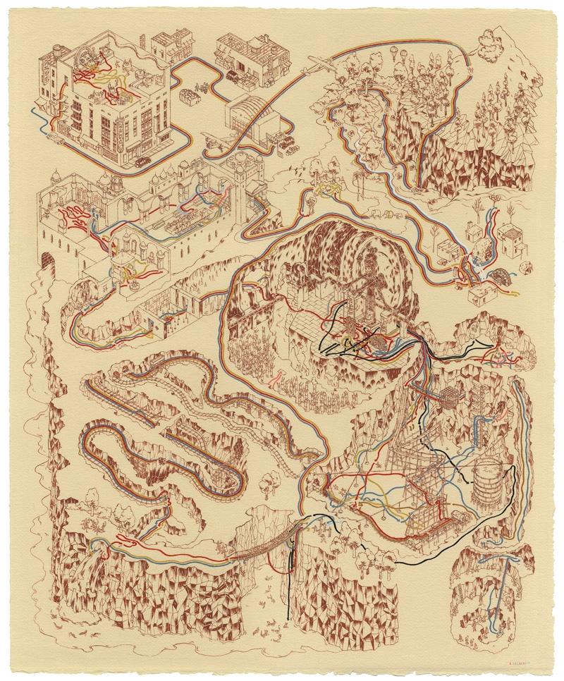 Paths of Doom Print
