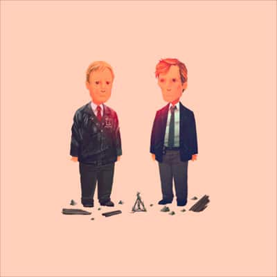 True Detective 1995 Olly Moss Print