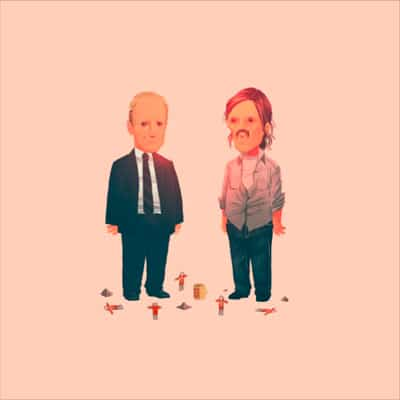 True Detective 2012 Olly Moss Print