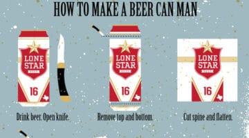 True Detective Beer Can Man Instructions