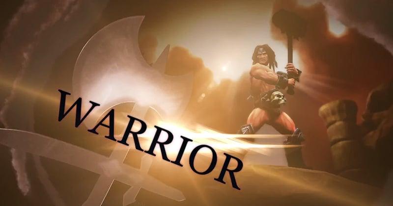 Warrior Character Screenshot