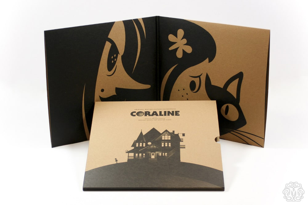 Coraline Soundtrack Record inner Sleeve