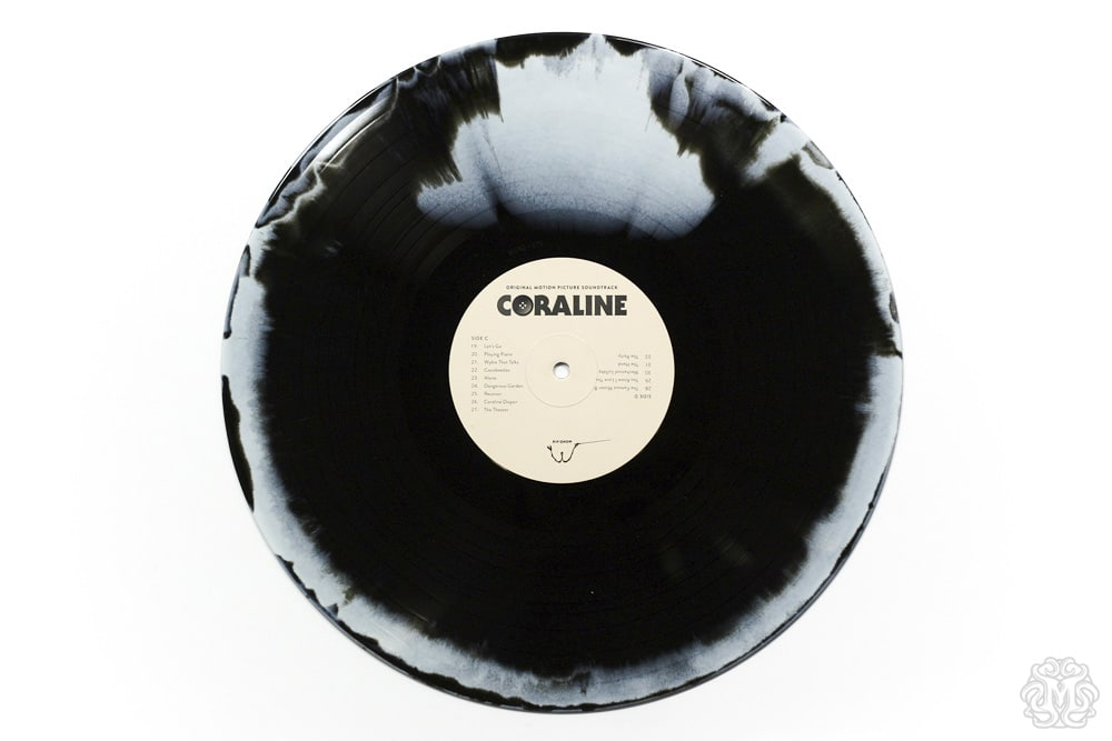 Coraline Soundtrack Record Disc