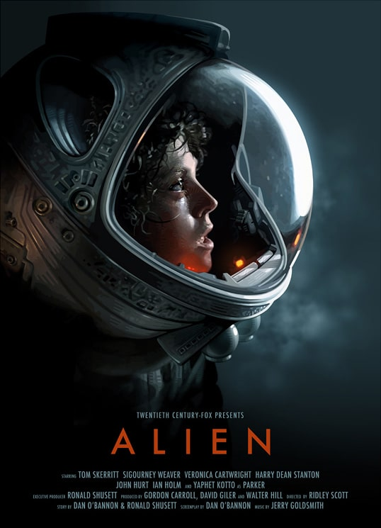 Alien Movie Alien movie poster. �