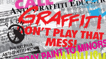 Anti-graff Propaganda and Cool Disco Dan Documentary
