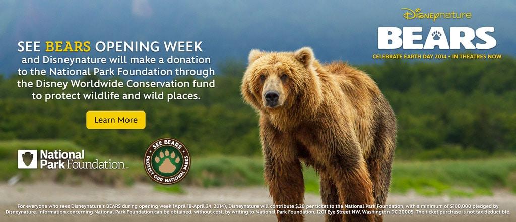 Disney's Bears Movie Promotion