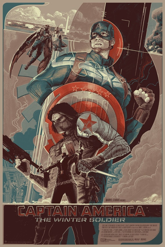 Captain America: The Winter Soldier Variant by Rich Kelly