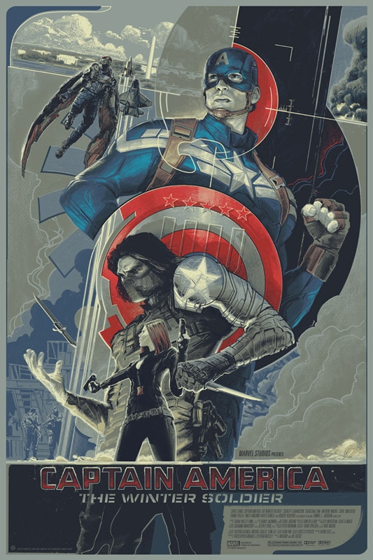 Captain America: The Winter Soldier by Rich Kelly