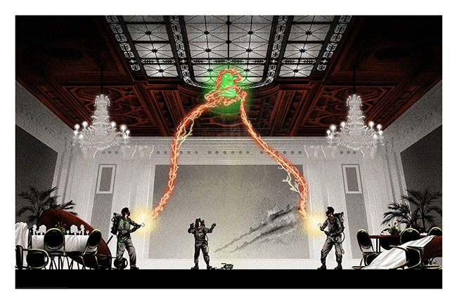 Ghostbusters Courtroom Print