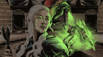 Dracarys Game of Thrones Print by JP Valderrama