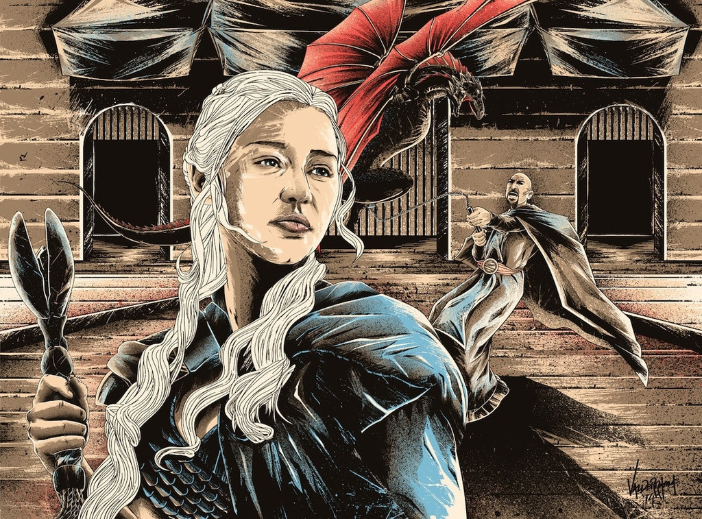 Dracarys Game of Thrones Print by JP Valderrama