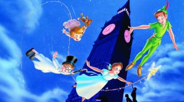 Peter Pan Returns to the Disney Vault