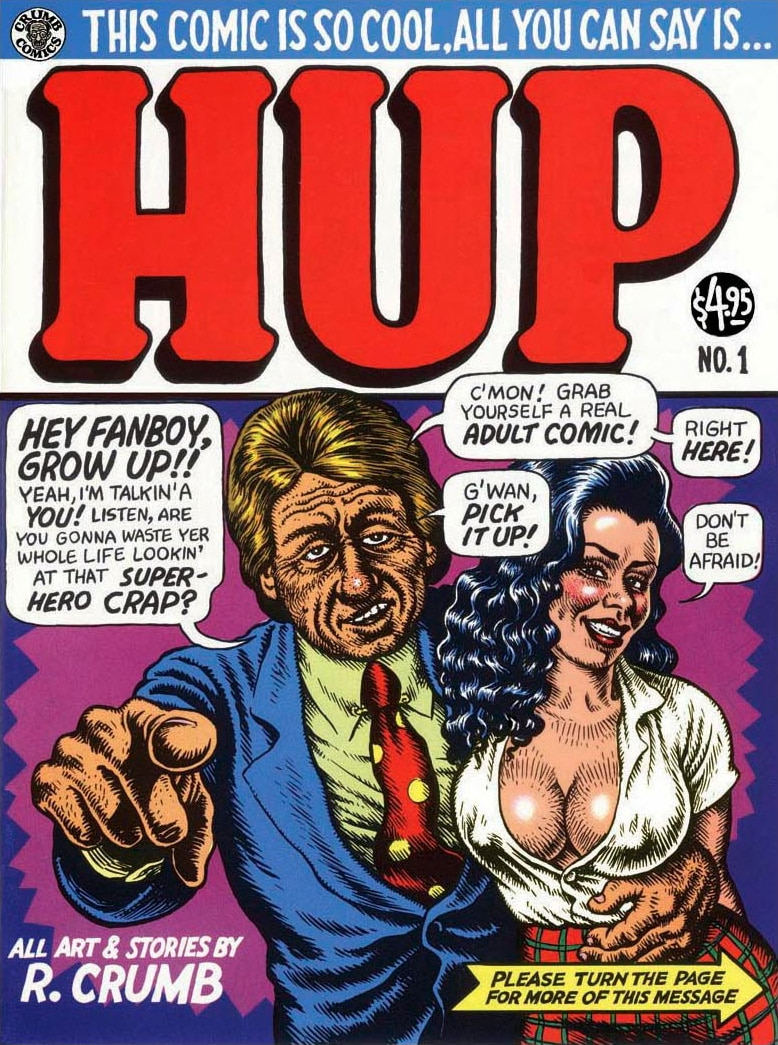 R. Crumb Hup Comics #1