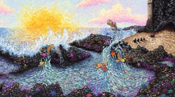 Mermaid Weather Print by James Eads