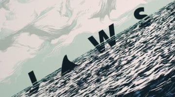 Jaws Mondo Movie Poster Print