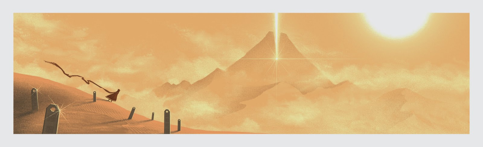 Journey Print by JC Richard