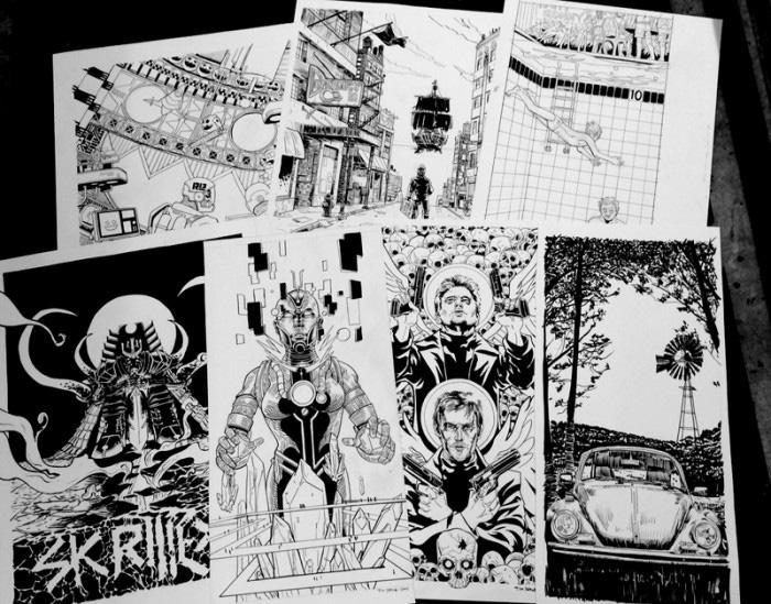 Nakatomi Mystery Print Tube Sale 3