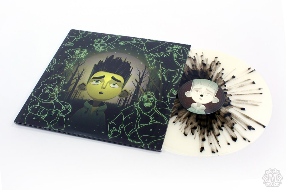 Paranorman Record Splatter Disc
