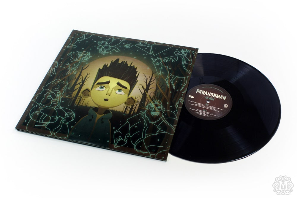 Paranorman Record Cover Regular