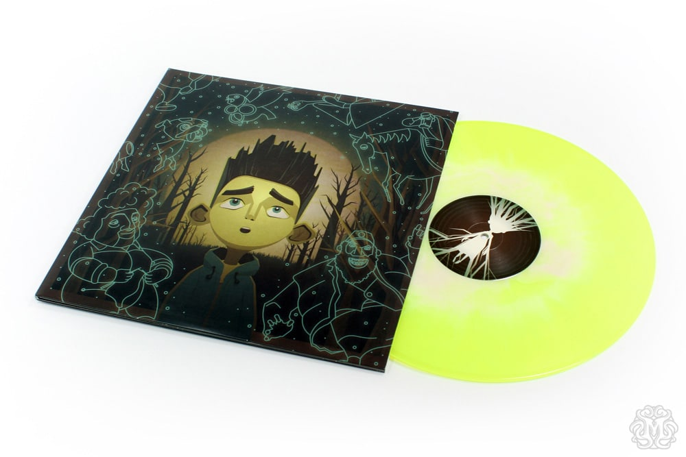 Paranorman Record Cover Glow