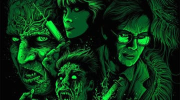 Re-Animator Movie Print by Dan Mumford