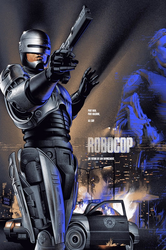 Robocop Movie Poster Variant