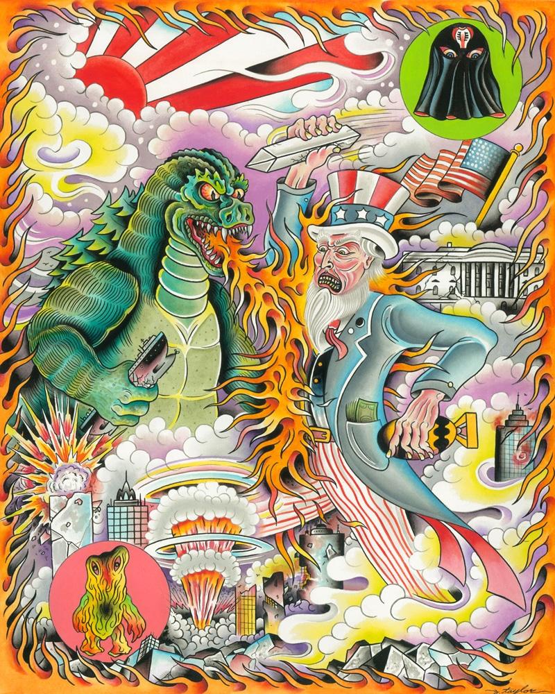 Z Taylor Monster Print