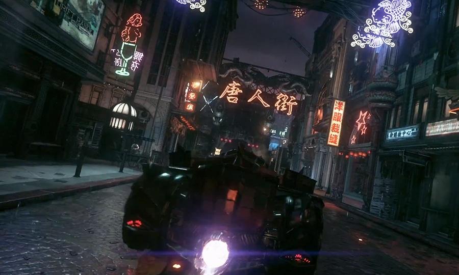 Batmobile Gameplay from Arkham Knight