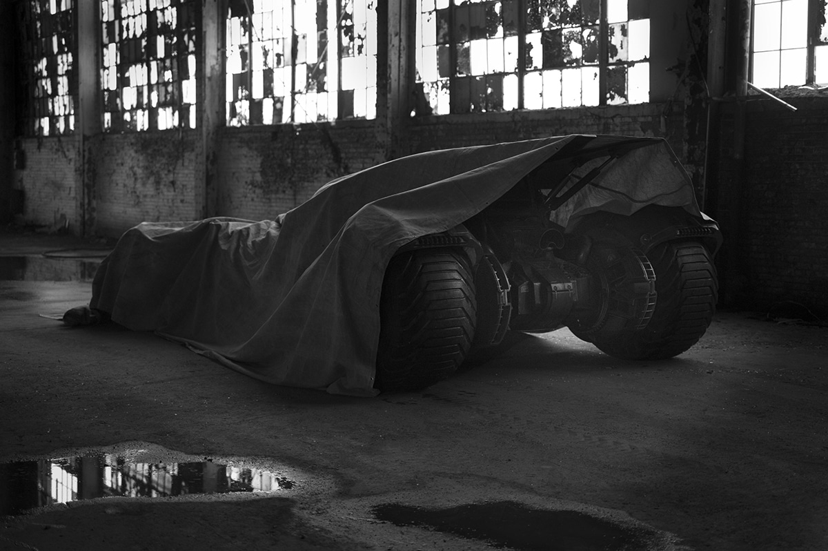 Batmobile from Batman Vs Superman