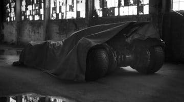 New Batmobile Photo