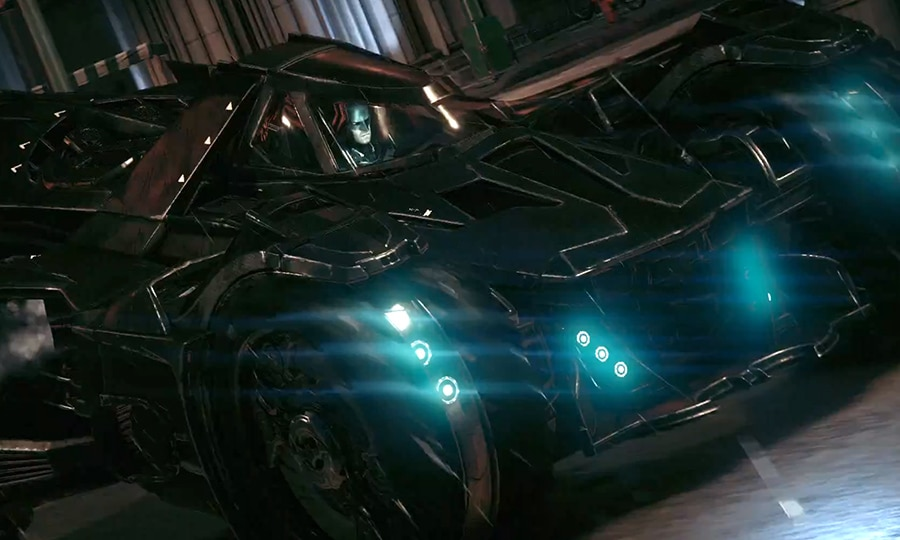 New Batmobile from Arkham Knight