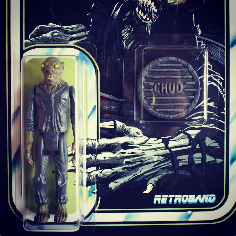 CHUD Action Figure Detail