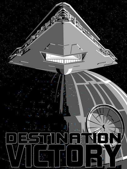 Star Wars Destination Victory Print