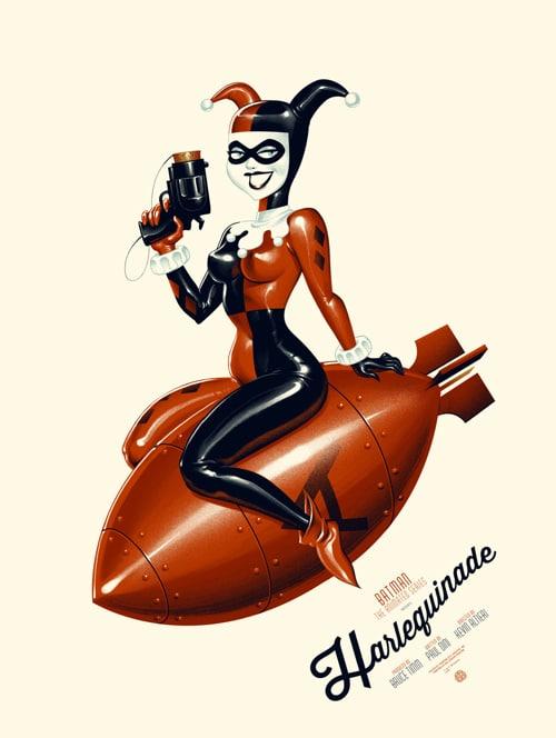 Harlequinade Batman: The Animated Series Print