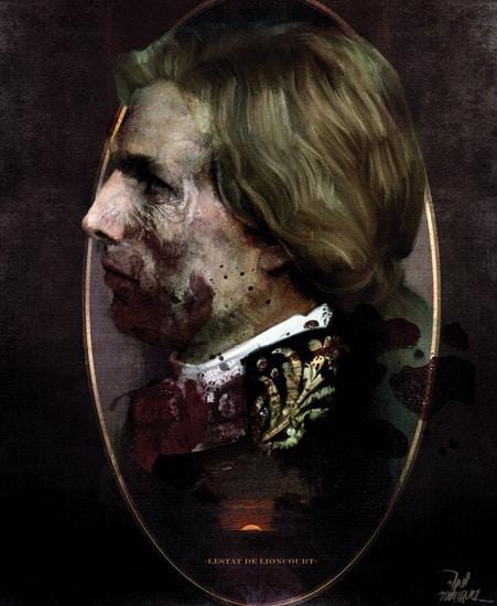 Lestat Vampire Profile Print