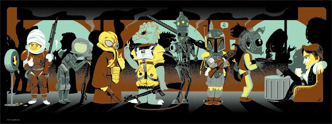 Star Wars Number Print