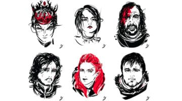 Game of Thrones Characters by Peter Breese