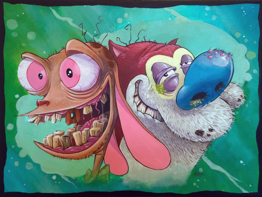 Ren and Stimpy Original Art