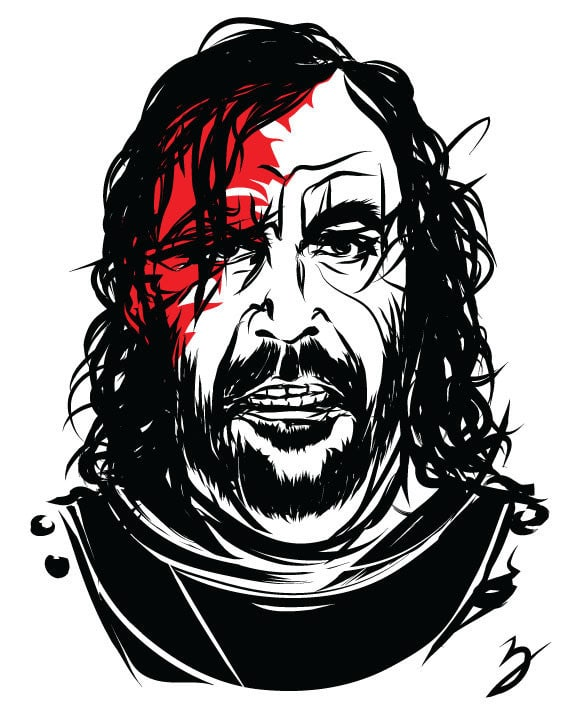 The Hound GOT by Peter Bresse