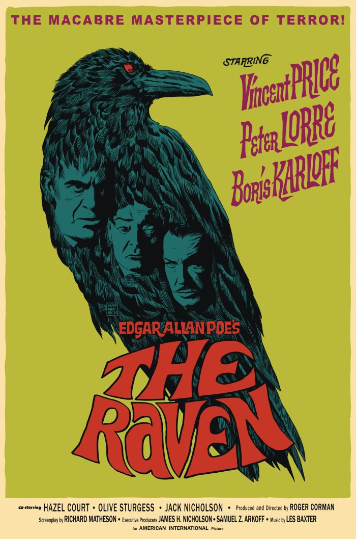 The Raven 1935 Poster