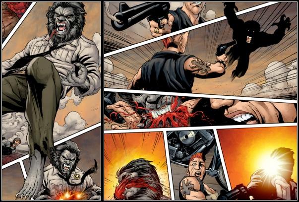WolfCop Comic
