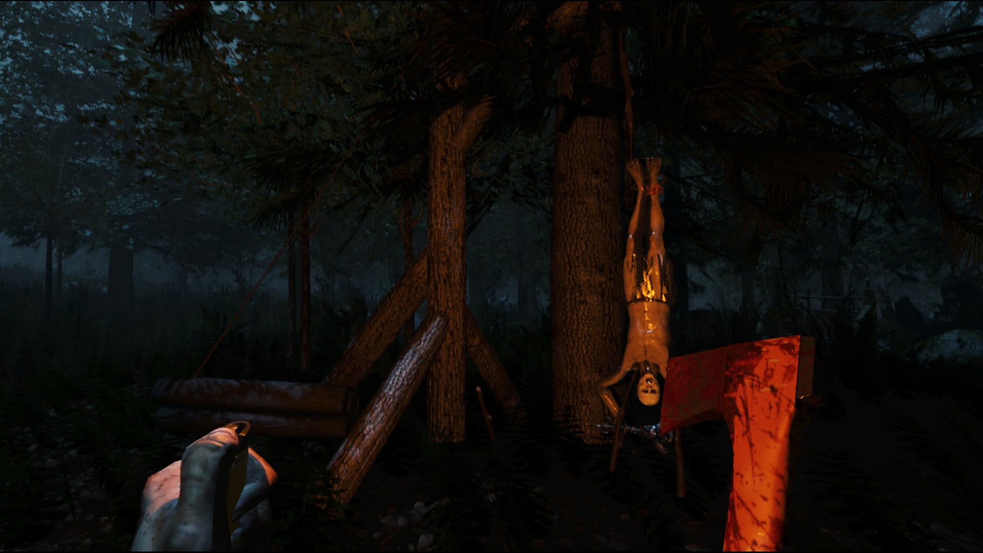 The Forest Game Play Screenshot 2